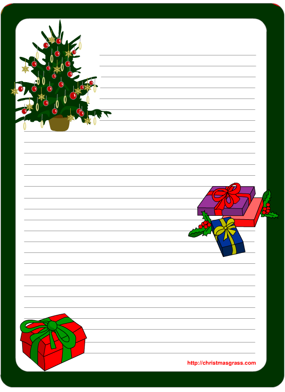 Christmas letter templates spiritdancerdesigns Images