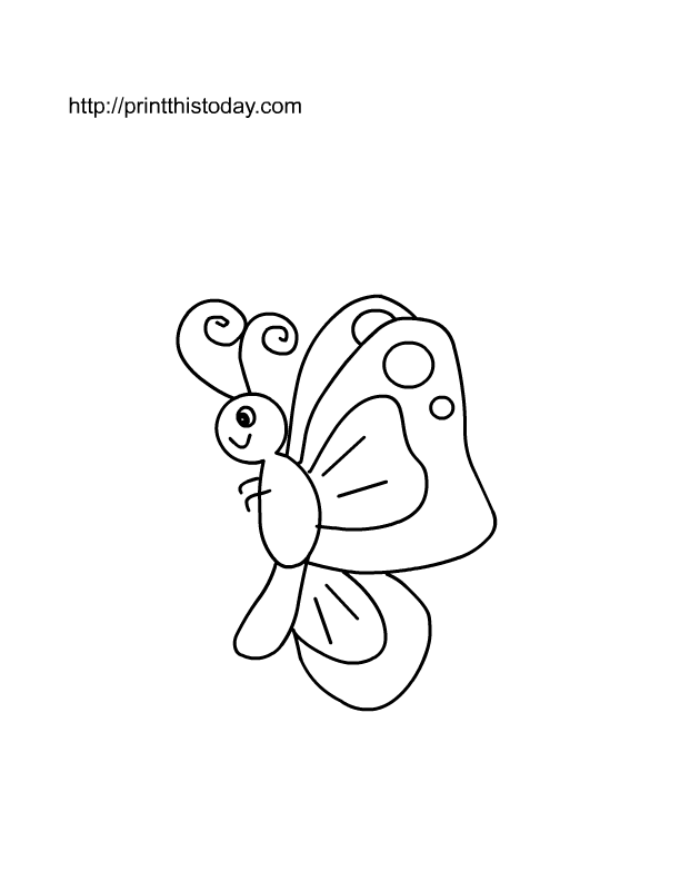 Free Printable Insects Coloring
