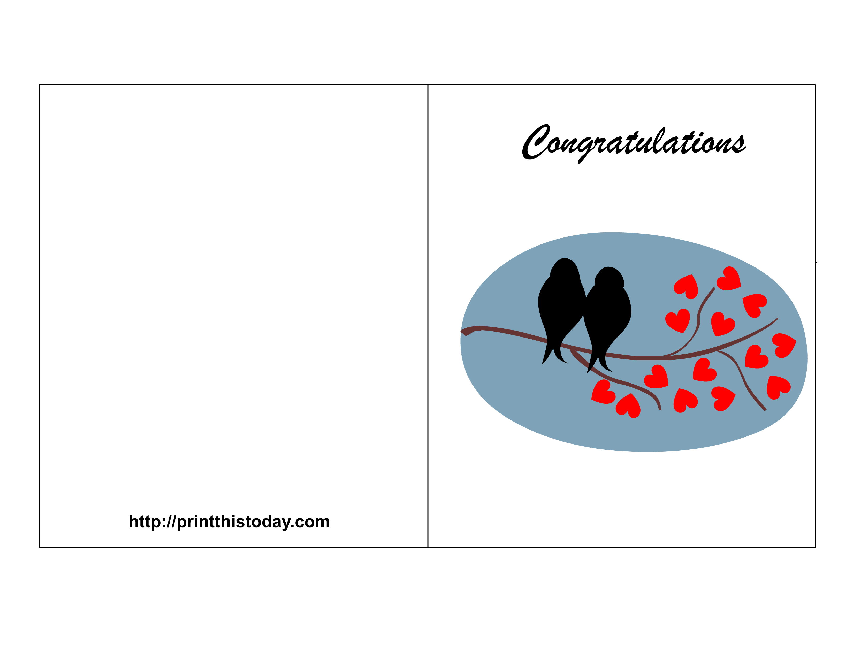 congratulation card templates free