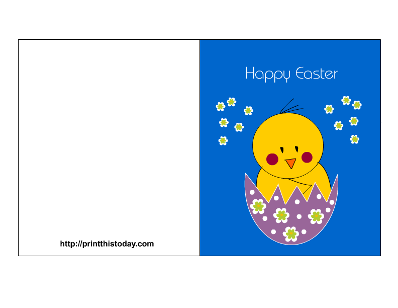 Declarative image intended for happy easter cards printable
