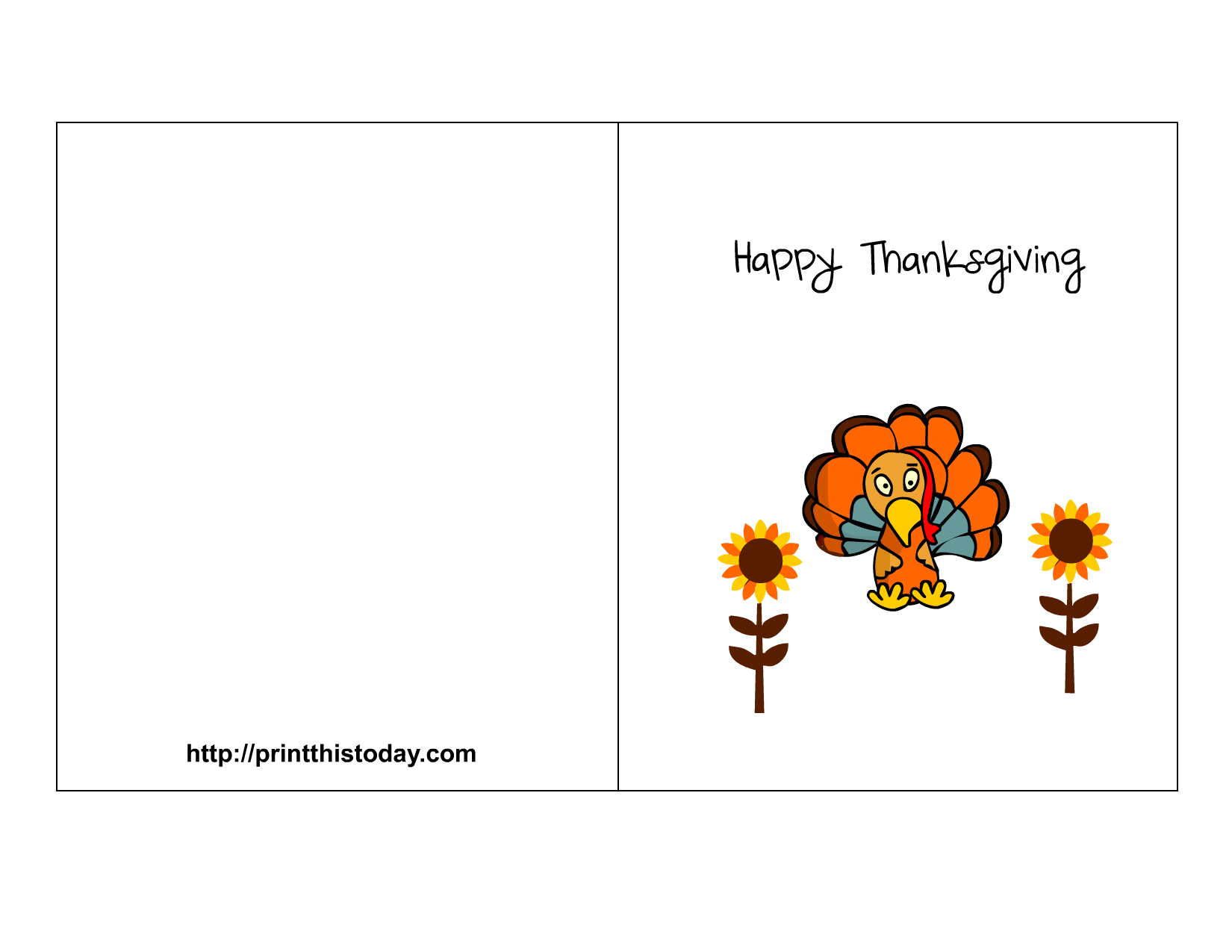 It is a graphic of Remarkable Free Printable Thanksgiving Cards